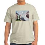 Creation / Bearded Collie Light T-Shirt