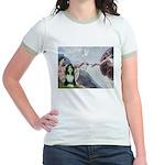 Creation / Bearded Collie Jr. Ringer T-Shirt