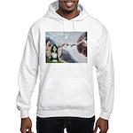 Creation / Bearded Collie Hooded Sweatshirt