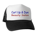 Curl Up & Dye Trucker Hat