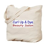 Curl Up & Dye Tote Bag
