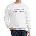 Curl Up & Dye Sweatshirt