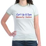 Curl Up & Dye Jr. Ringer T-Shirt