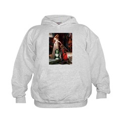 Accolade / Bearded Collie Kids Hoodie