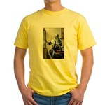 Pitcher / Bearded Collie Yellow T-Shirt