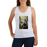 Pitcher / Bearded Collie Women's Tank Top