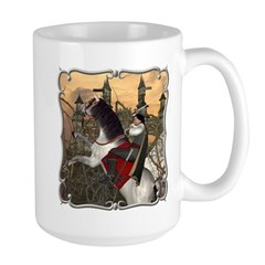 Prince Phillip to the Rescue Large Mug