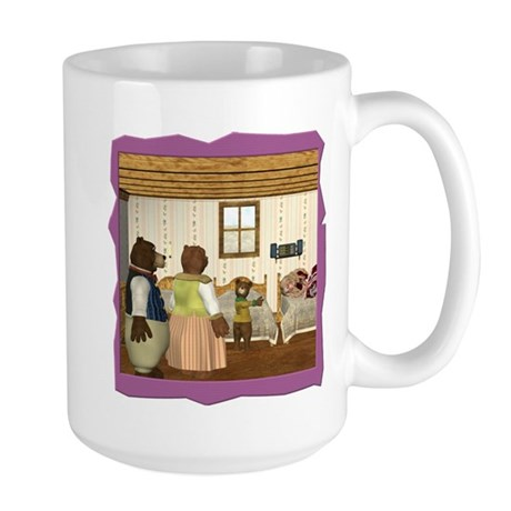 Goldilocks and the 3 Bears Large Mug