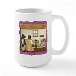 Goldilocks and the 3 Bears Large Mug