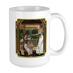 Cinderella and Her Godmother Large Mug