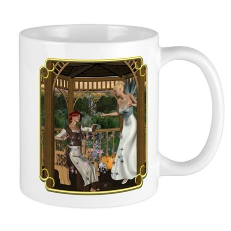 Cinderella and Her Godmother Mug