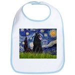 Starry Night /Belgian Sheepdog Bib