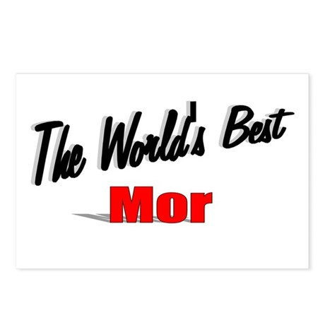 """The World's Best Mor"" Postcards (Package of 8)"