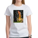Fairies /Belgian Sheepdog Women's T-Shirt