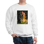 Fairies /Belgian Sheepdog Sweatshirt