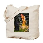 Fairies /Belgian Sheepdog Tote Bag