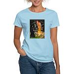 Fairies /Belgian Sheepdog Women's Light T-Shirt