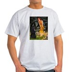 Fairies /Belgian Sheepdog Light T-Shirt