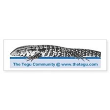 The Tegu Community Bumper Bumper Sticker