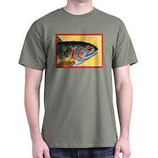 34 TROUT HEAD FIN T-Shirt
