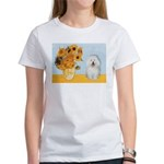 Sunflowers & Bolognese Women's T-Shirt