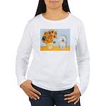 Sunflowers & Bolognese Women's Long Sleeve T-Shirt