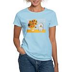 Sunflowers & Bolognese Women's Light T-Shirt