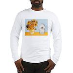 Sunflowers & Bolognese Long Sleeve T-Shirt
