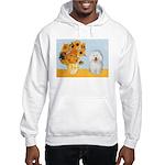 Sunflowers & Bolognese Hooded Sweatshirt