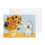 Sunflowers & Bolognese Greeting Cards (Pk of 10)