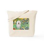 Irises & Bolognese Tote Bag