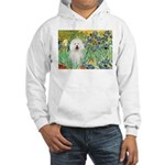 Irises & Bolognese Hooded Sweatshirt