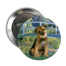 "Bridge / Border Terrier 2.25"" Button"