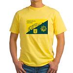 Gemeentepolitie Zandvoort Yellow T-Shirt