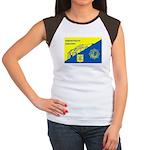 Gemeentepolitie Zandvoort Women's Cap Sleeve T-Shi