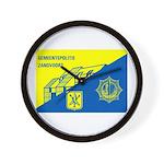 Gemeentepolitie Zandvoort Wall Clock