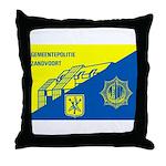 Gemeentepolitie Zandvoort Throw Pillow