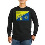 Gemeentepolitie Zandvoort Long Sleeve Dark T-Shirt