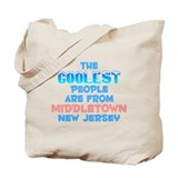 Coolest: Middletown, NJ Tote Bag