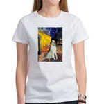 Terrace Cafe & Borzoi Women's T-Shirt