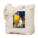 Terrace Cafe & Borzoi Tote Bag