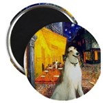 Terrace Cafe & Borzoi Magnet