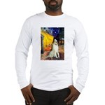 Terrace Cafe & Borzoi Long Sleeve T-Shirt