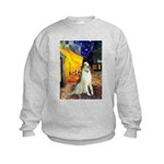 Terrace Cafe & Borzoi Kids Sweatshirt