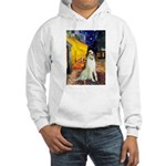 Terrace Cafe & Borzoi Hooded Sweatshirt