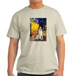Terrace Cafe & Borzoi Light T-Shirt