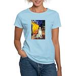 Terrace Cafe & Borzoi Women's Light T-Shirt
