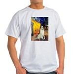 Terrace Cafe & Borzoi Light T-Shirt