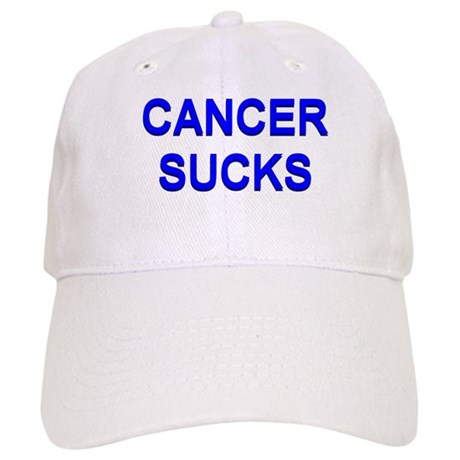 Cancer  on Benefits Gifts   Benefits Hats   Caps   Cancer Sucks Baseball Cap
