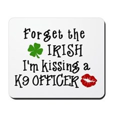 Kiss K9 Officer Mousepad